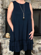 dress Melissa - Navy - The Ruby Lotus Boutique