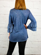 Top Natalie - Blue - The Ruby Lotus Boutique
