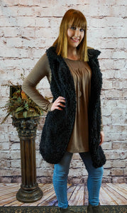 Outerwear Nicole - Black - The Ruby Lotus Boutique