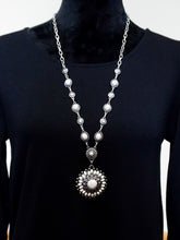 Jewelry Oslo - Long Chain Necklace Set - White - The Ruby Lotus Boutique