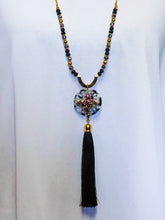 Jewelry Vienna - Long Beaded Chain Necklace Set - The Ruby Lotus Boutique
