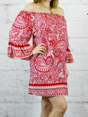 Top Bridget - Red - The Ruby Lotus Boutique