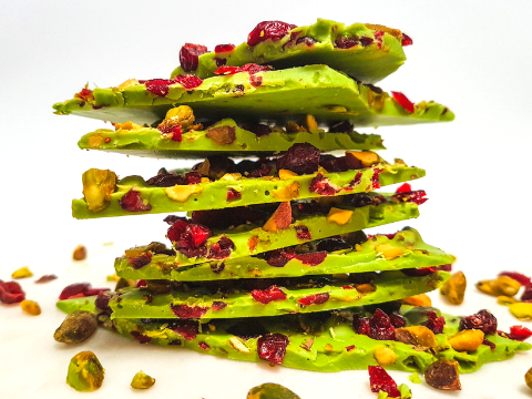 Matcha Chocolate Bark Main Image
