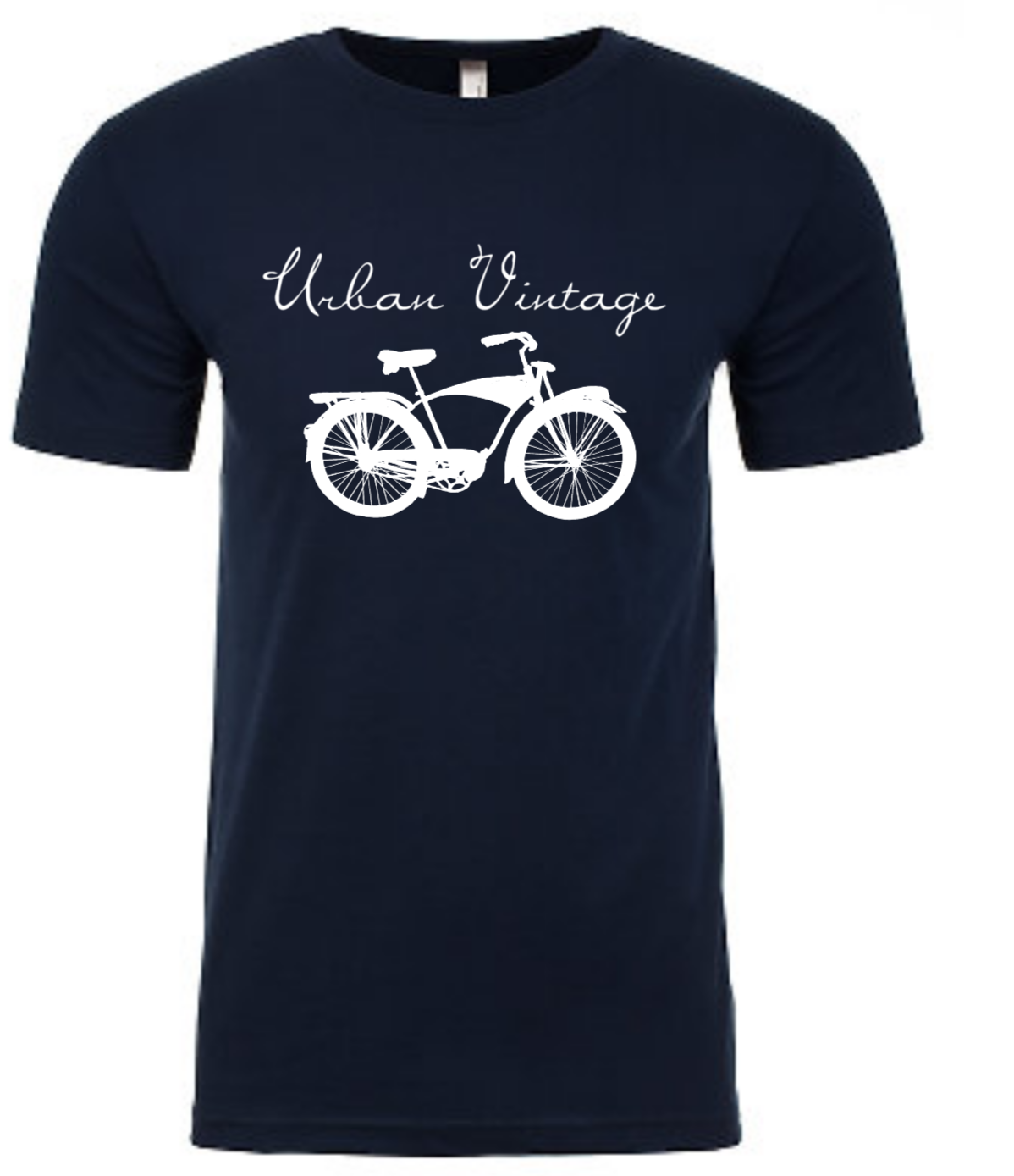 Original Logo T-Shirt-Navy/White