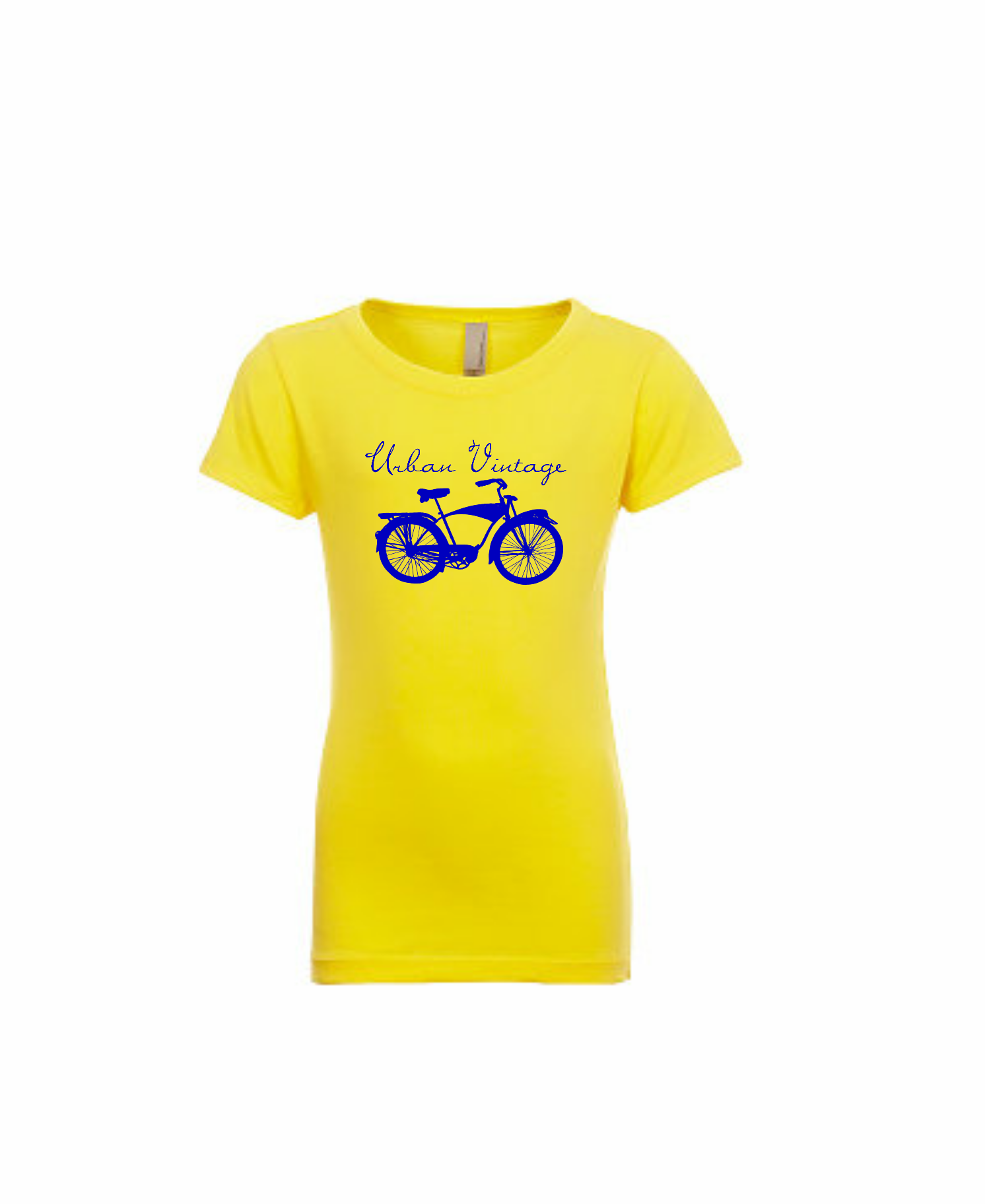 UV Girl's Princess T-Yellow/Navy