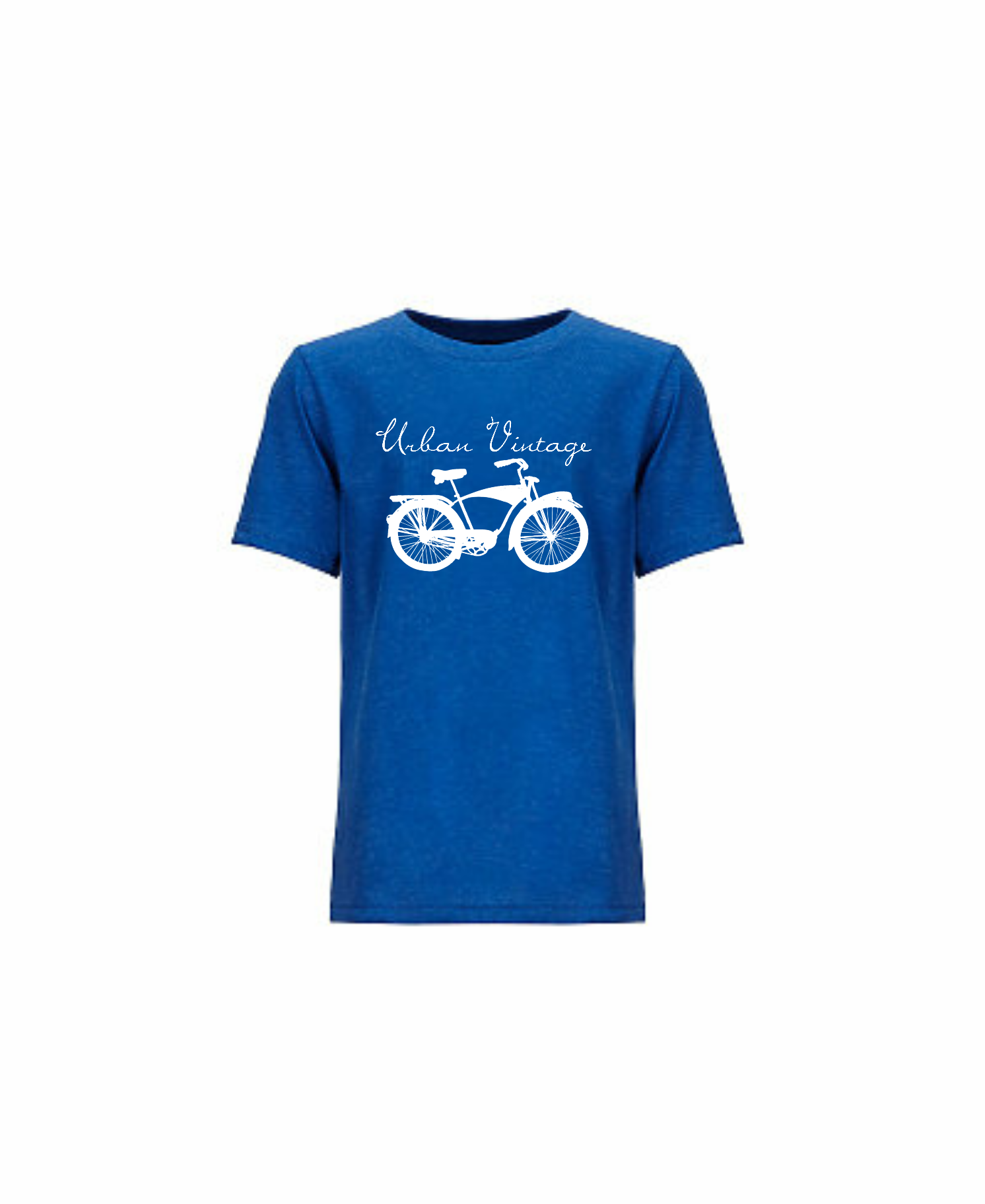 UV Boy's Playground T-Royal Blue/White