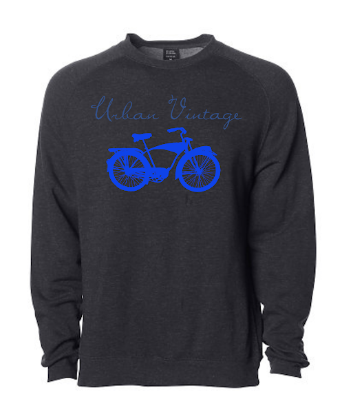 UV Crew Neck Sweatshirt-Black/Royal