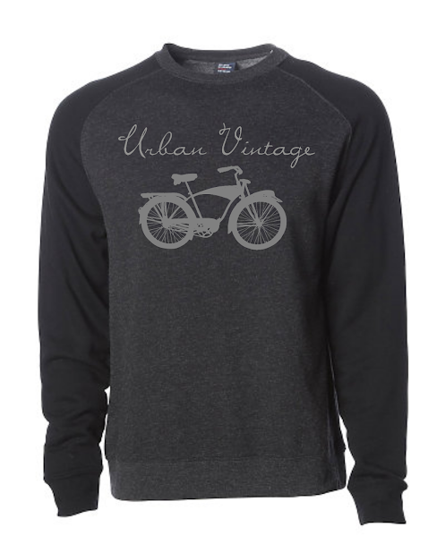 UV Crew Neck Sweatshirt-BLK/GRAY