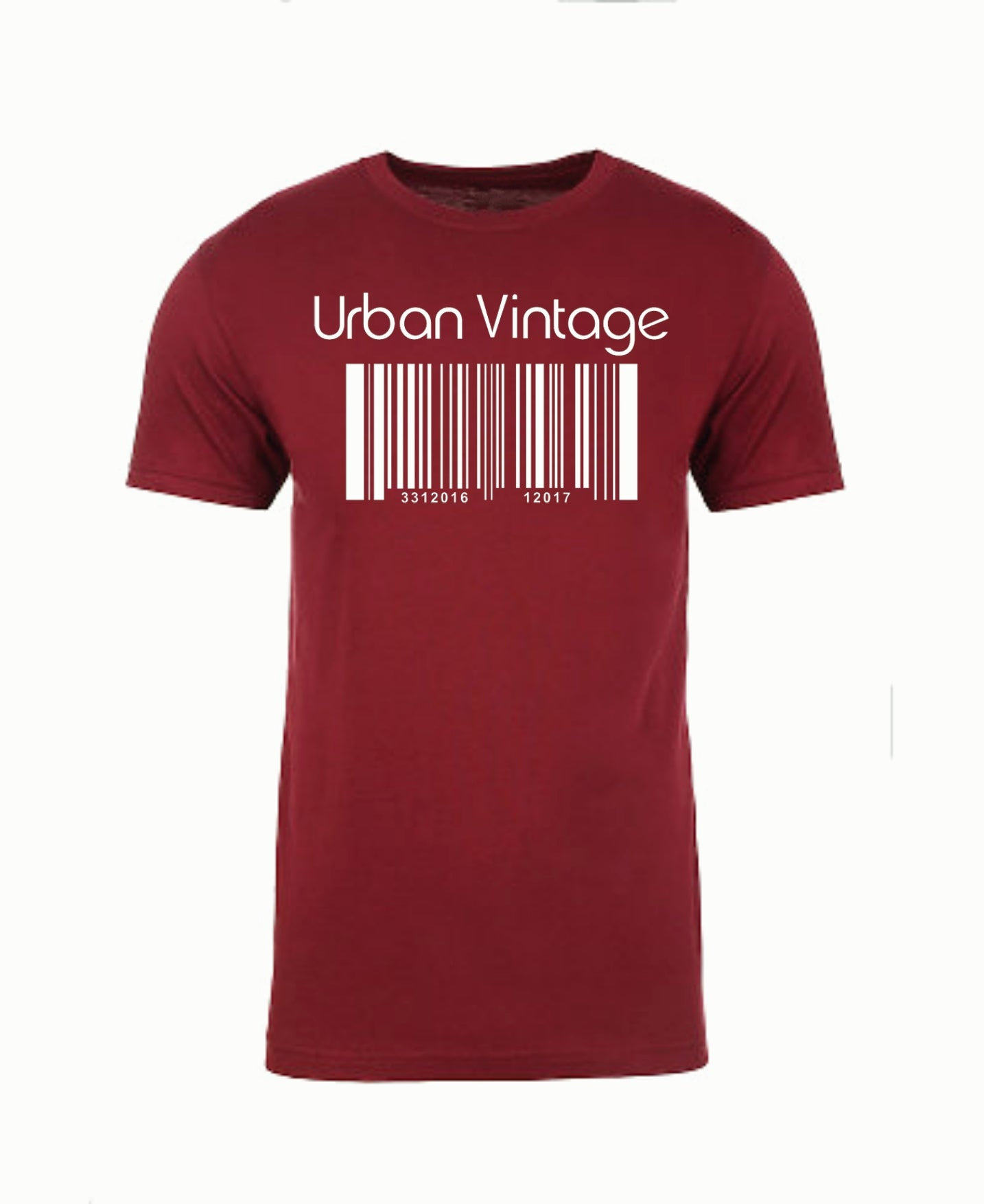 UVBC Basic T-Maroon/White