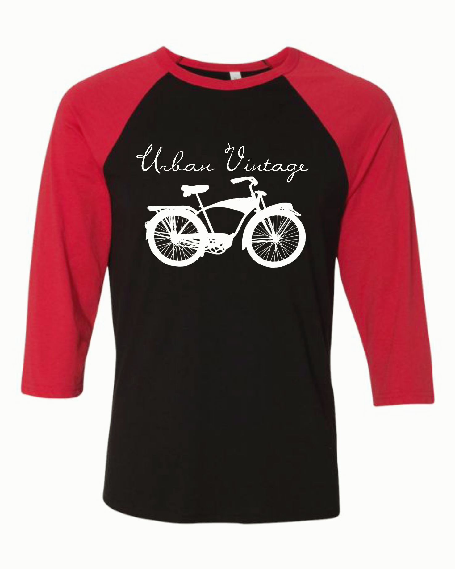 UV All Around Raglan-Red/Black/White