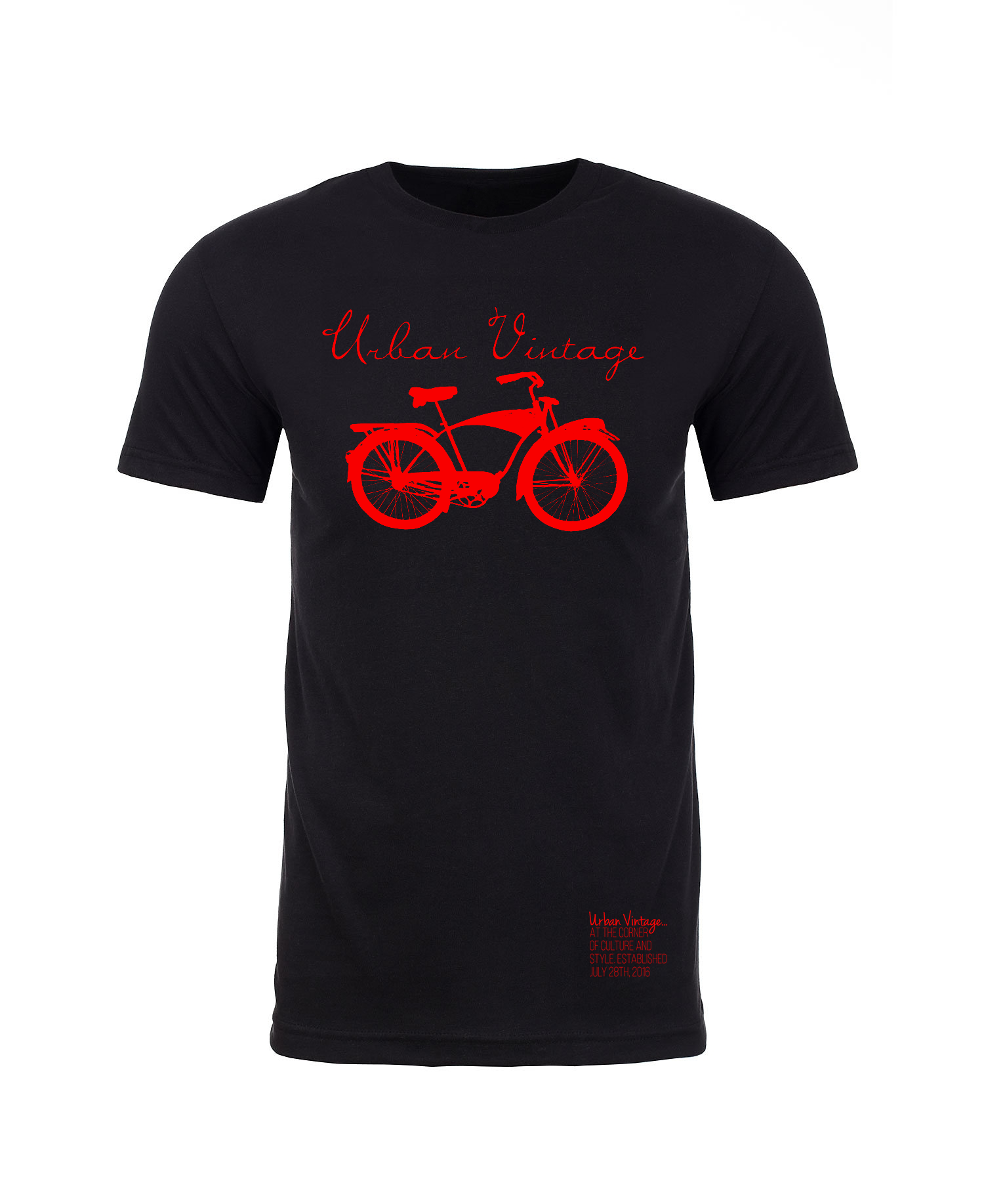 Original Logo T-Shirt-Black/Red