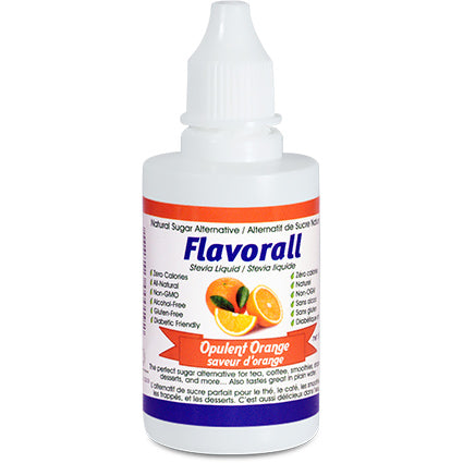 **Flavorall Stevia Liquide Orange / Flavorall Liquid Stevia Orange (NT)