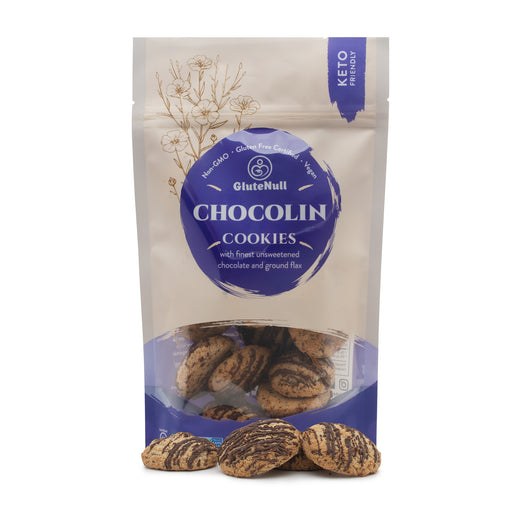 Glutenull Bakery- Biscuit Keto - Chocolin 220g