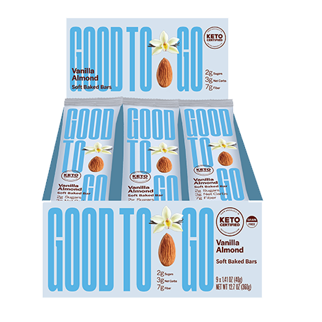 Good to go - Vanille et amandes
