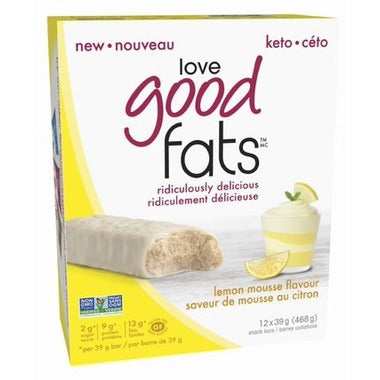Love Good Fats Bars - Mousse au citron 39g