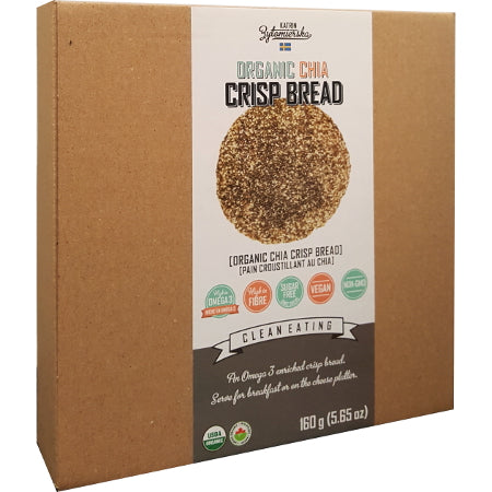 KZ Clean Eating Craquelin de Chia 160g