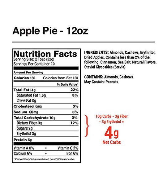 Legendary-Foods-Apple-Pie-Almond-Cashew-Butter-12oz-facts-keto-quebec