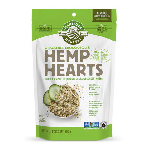 **Manitoba Harvest - Hemp Hearts - Graines de Chanvre décortiquées 340g / Shelled Hemps Seeds 340g (NT)