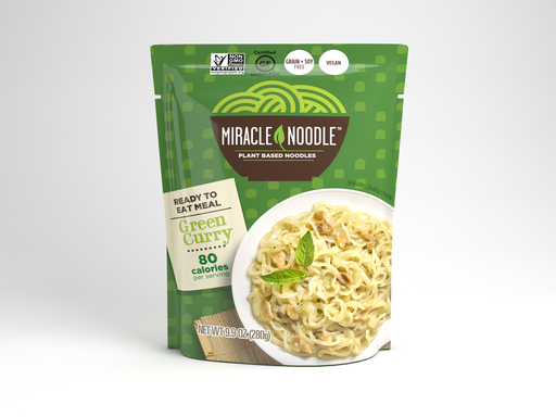 Miracle Noodle -Curry vert 280g