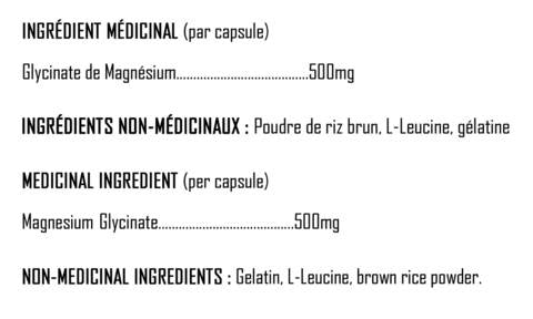 Magnesium-Glycinate-nutrition-fact-xpn-keto-quebec