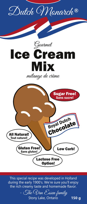 Melange-a-creme-glace-Gourmet-ice-cream-mix-Dutch-monarch-Keto-Quebec-Epicerie-cetogene-et-faibles-en-glucides-Chocolate-Chocolat