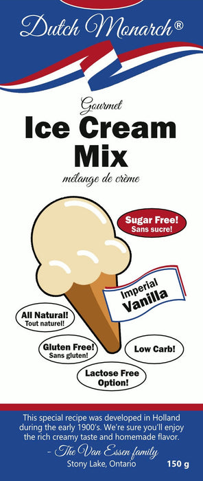 Melange-a-creme-glace-Gourmet-ice-cream-mix-Dutch-monarch-Keto-Quebec-Epicerie-cetogene-et-faibles-en-glucides-Vanille-Vanilla