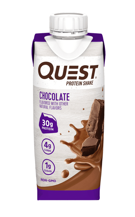 Quest_protein_proteine_shake_Chocolate_pret_a_boire_ready_to_drink_epicerie_Keto_Quebec_faible_en_gluicide