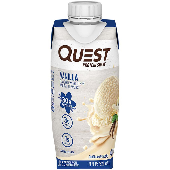 Quest_protein_proteine_shake_vanilla_vanille_pret_a_boire_ready_to_drink_epicerie_Keto_Quebec_faible_en_gluicides.