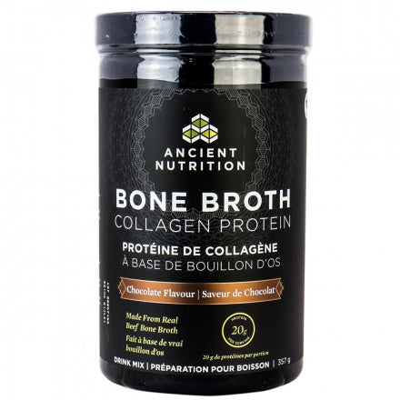 Ancient Nutrition - Protéine de collagène à base de bouillon d'os - chocolat - Keto - Cétogène