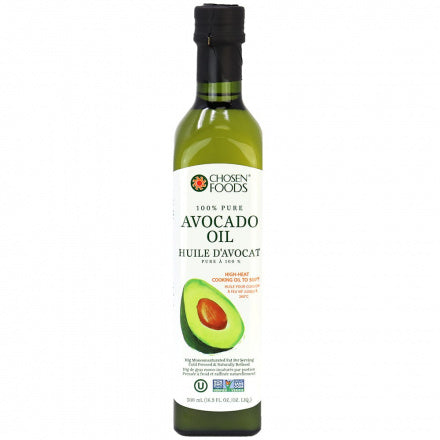Chosen Foods - Huile d'avocat pure à 100% 500ml