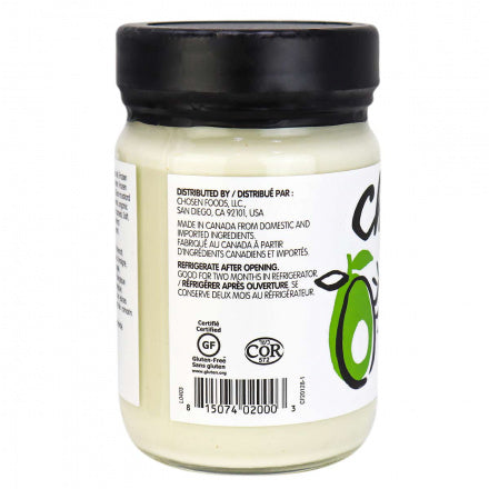 chosen-foods-classic-mayonnaise-avocado-oil-keto-quebec-information-nutritionnel.