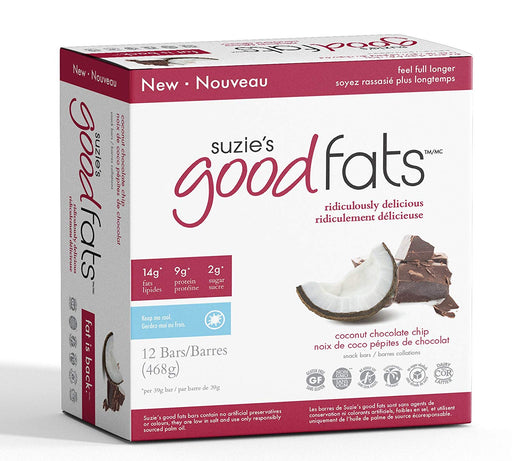 Love Good Fats Bars - Noix de coco et pépites de chocolat 39g