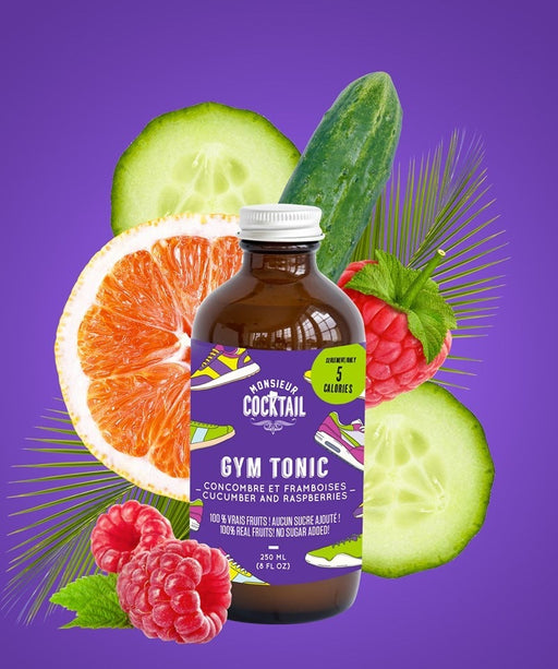 Monsieur Cocktail - Gym Tonic 2g Net!