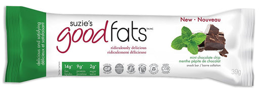Love Good Fats Bars- Menthe et pépites de chocolat 39g