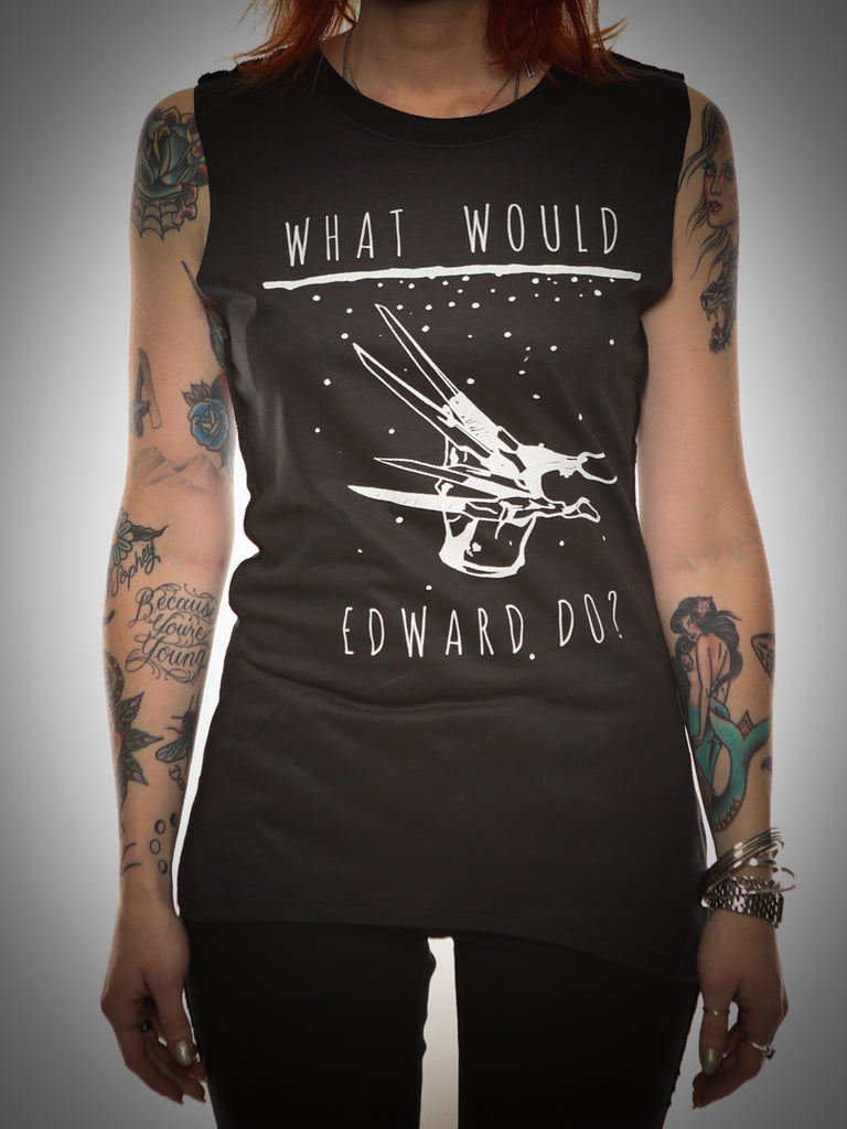 What Would Edward Do Muscle Tee