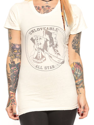Unloveable All Star Tee
