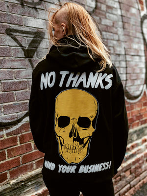 No Thanks Pullover Hoodie