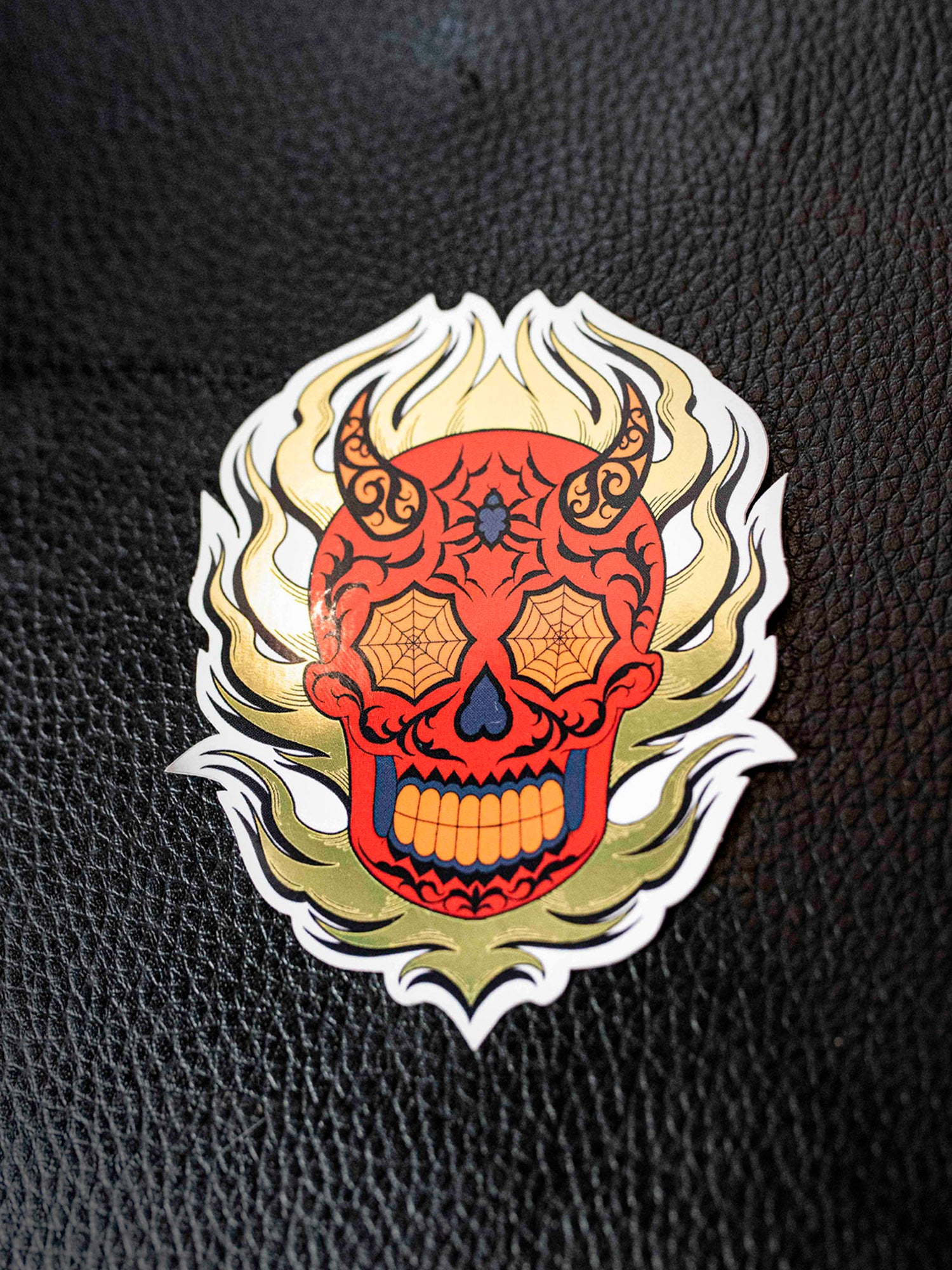 Diablo Skull Sticker