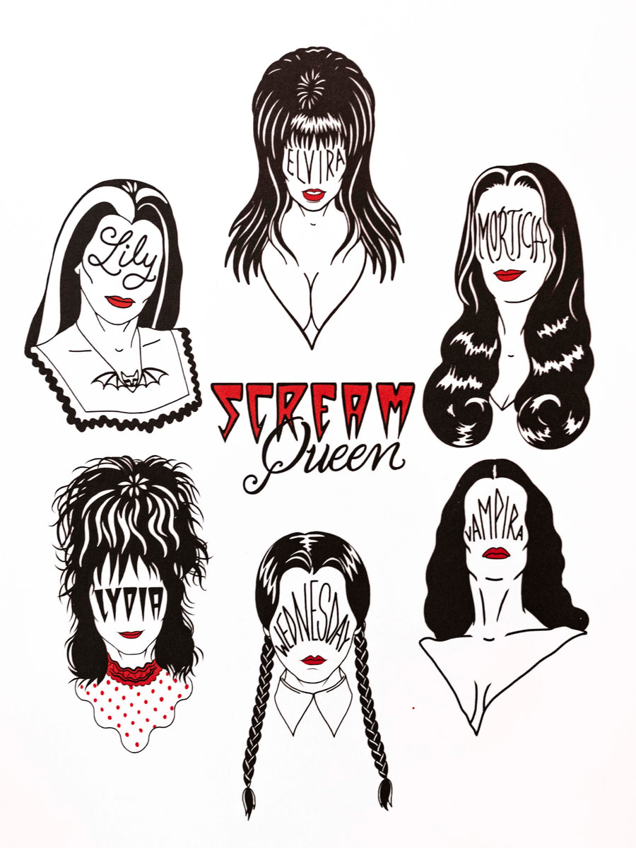 Scream Queens Print