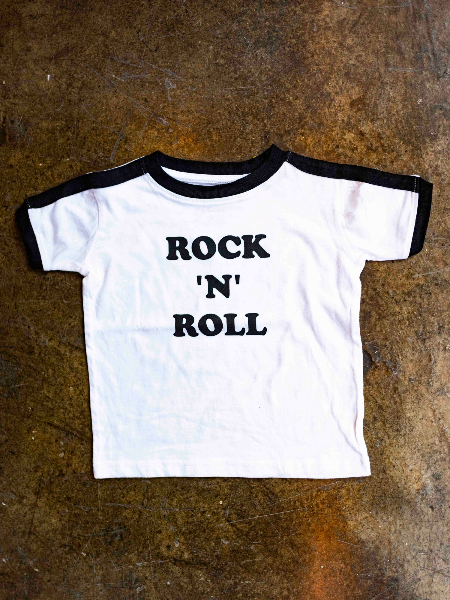 Rock N Roll Ringer Tee