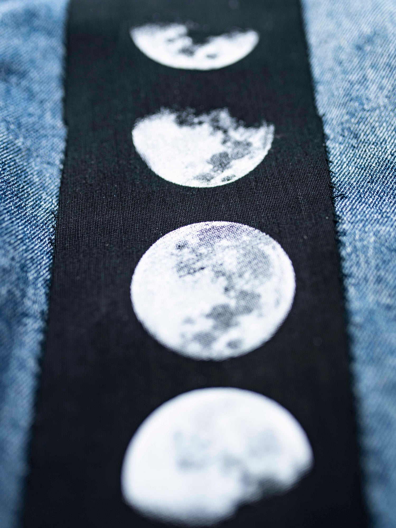 Phases Of The Moon Large Patch