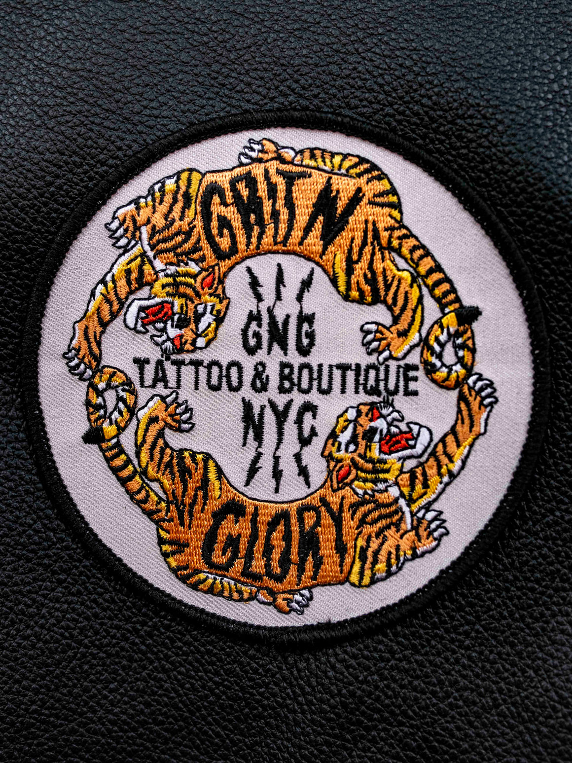 Grit N Glory Tiger Patch