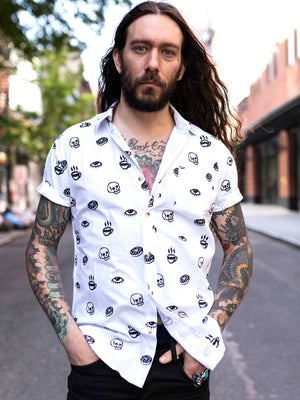 Morning Glory Button Up Shirt