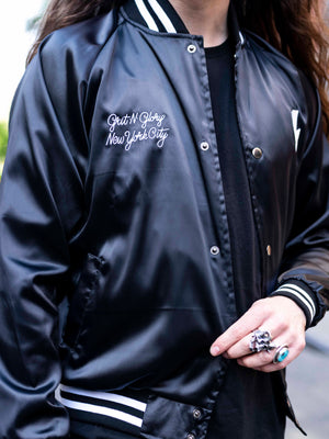 GNG Outsiders Club Satin Jacket