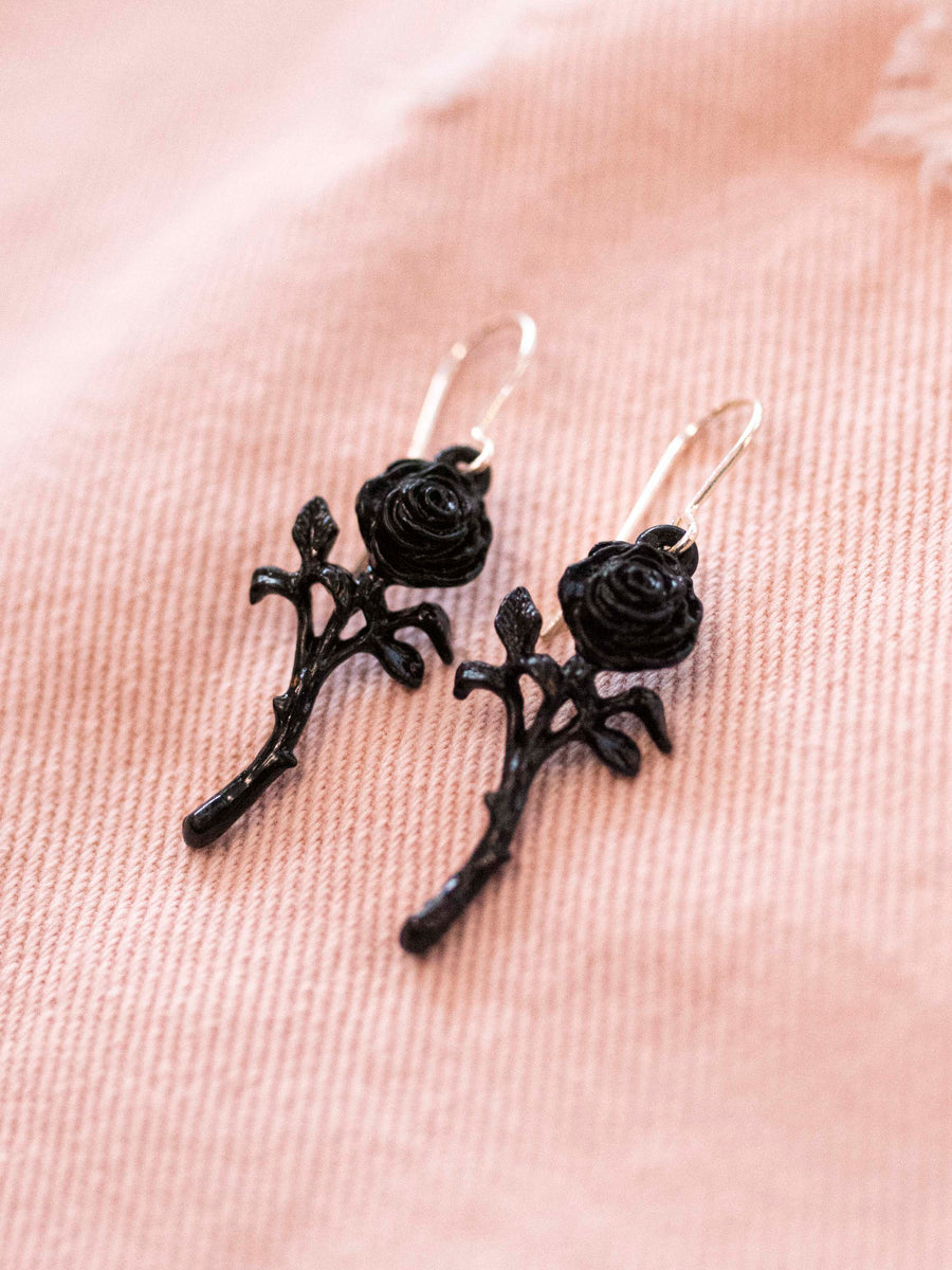Romance of the Rose Earring