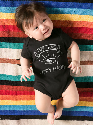 Cry Hard Onesie