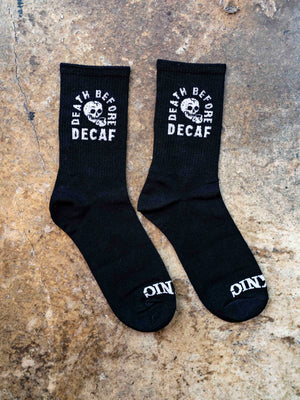 Death Before Decaf Socks