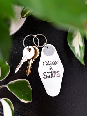Follow the Stars Keytag