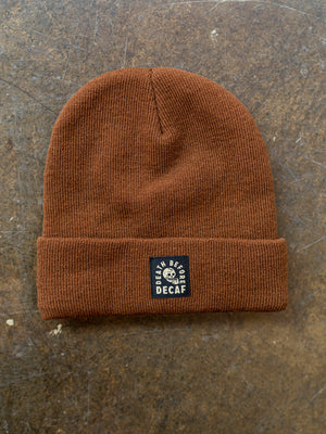 Death Before Coffee Beanie