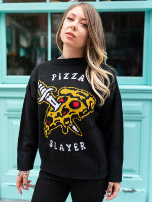 Pizza Slayer Sweater